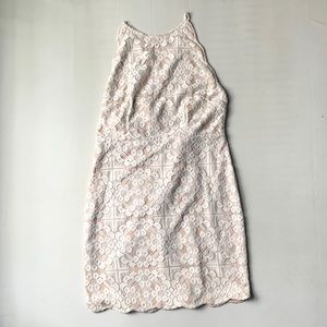 L'atiste Lace Halter Dress